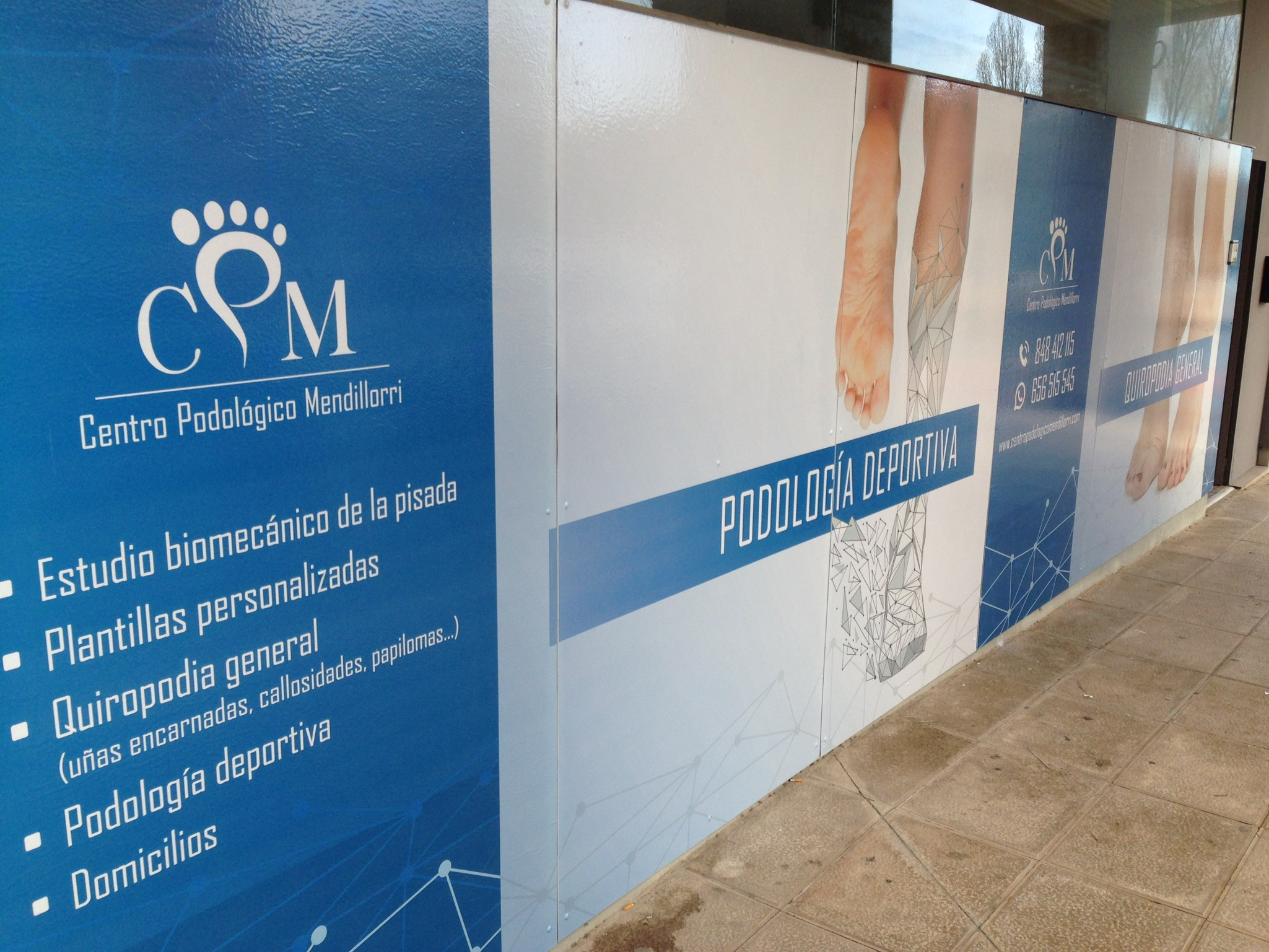Apertura Centro Podológico Mendillorri Centro Podológico